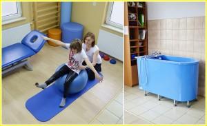 sala rehabilitacji żółta ramka małe